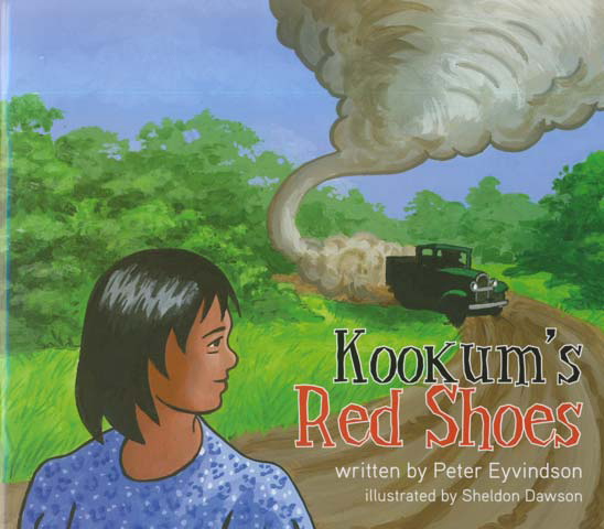 Kookums Red Shoes