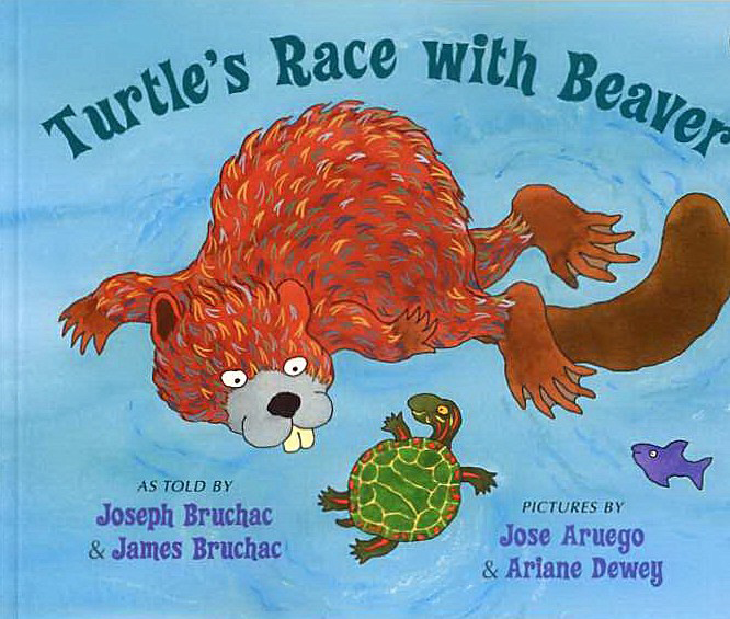 Turtles Race With Beaver